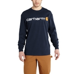 Carhartt Long-Sleeve Logo T-Shirt K298